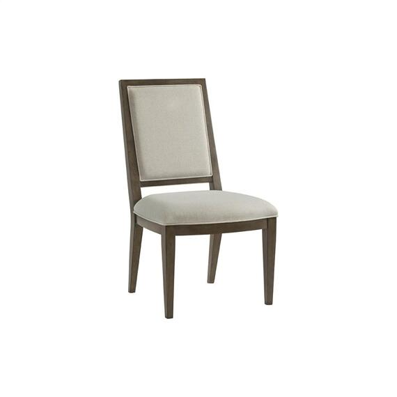 Riverside - Monterey - Upholstered Side Chair - Mink Finish