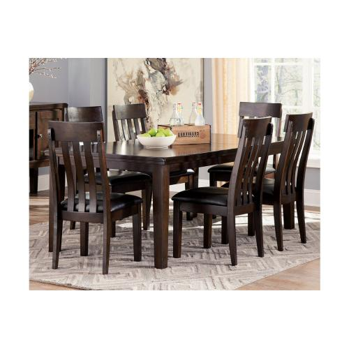 Haddigan Butterfly EXT Table & 6 Chairs Dark Brown