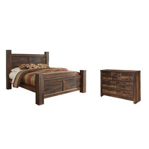 King Poster Bed With Dresser