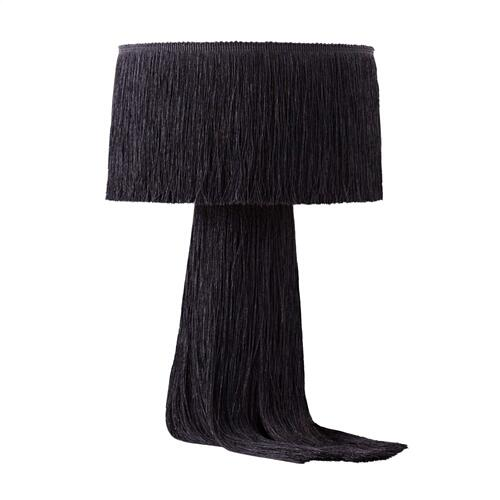 Product Image - Atolla Black Tassel Table Lamp