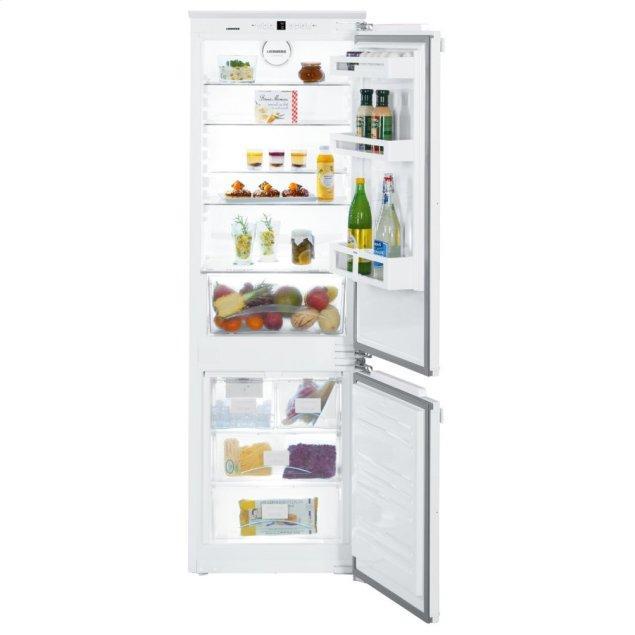 Liebherr Integrated fridge-freezer combination with BioCool and NoFrost