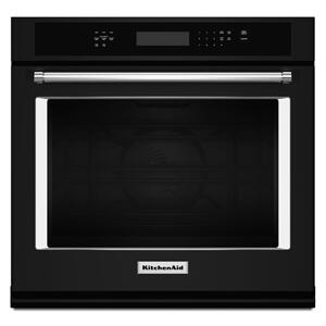 "27"" Single Wall Oven with Even-Heat™ True Convection - Black Product Image"