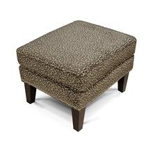 Saylor Ottoman with Nails