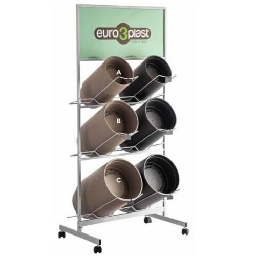Libis Plant Bowl - Display on Wheels (Stand only)
