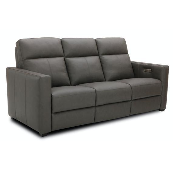 Flexsteel - Broadway Power Reclining Sofa with Power Headrests