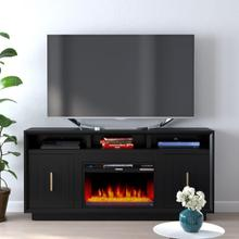 """See Details - Sunset 67"""" Fireplace Console"""