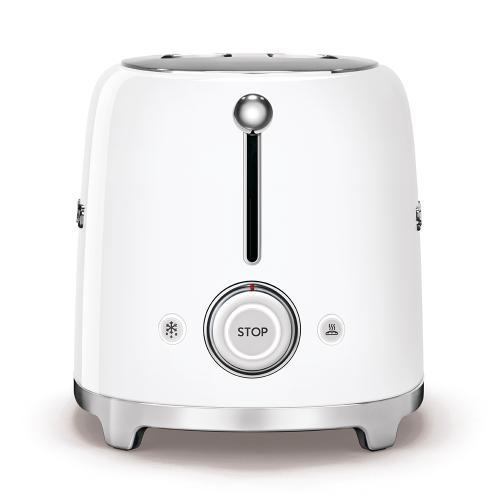 2x2 Slice Toaster, White