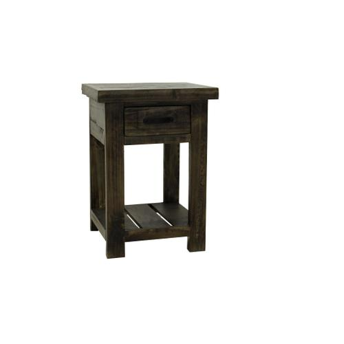 L.M.T. Rustic and Western Imports - Prescott Tobacco End Table