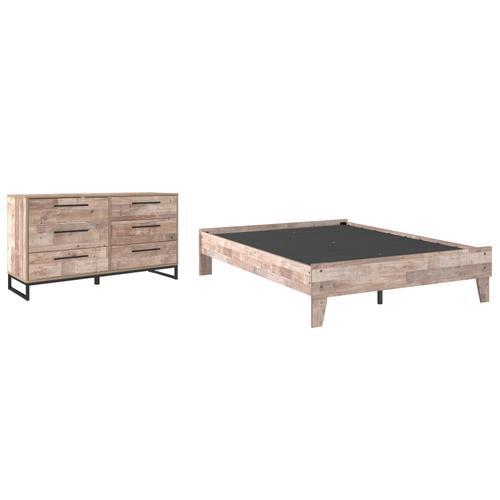 Ashley - Full Platform Bed With Dresser