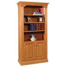 See Details - Imperial Bookcase with Doors on Bottom