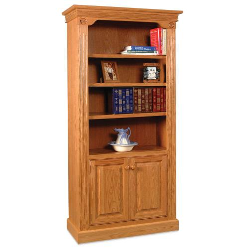 Gallery - Imperial Bookcase with Doors on Bottom