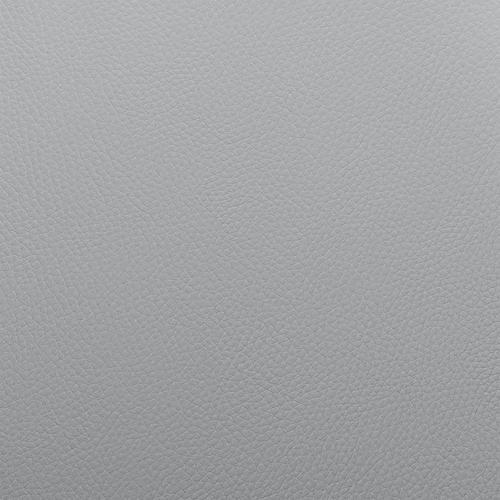 "Armen Living - Julius 26"" Grey Faux Leather and Black Wood Bar Stool"