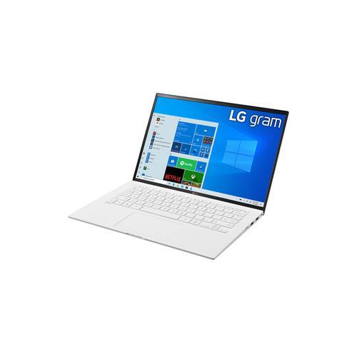 LG - LG gram 14'' Ultra-Lightweight and Slim Laptop with Intel® Evo 11th Gen Intel® Core™ i5 Processor and Iris® Xe Graphics