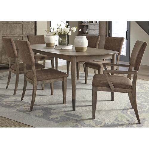 Liberty Furniture Industries - 7 Piece Oval Table Set