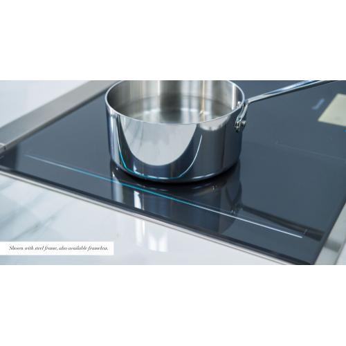 Thermador - Freedom® Induction Cooktop 30'' Dark Gray, surface mount without frame CIT30XWBB