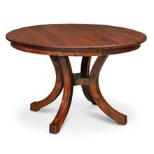 """View Product - Loft II Round Table, 48"""" round (Max 3 Leaves) / One 12"""" Leaf"""
