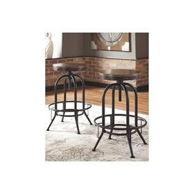 Valebeck Tall Swivel Barstool Multi