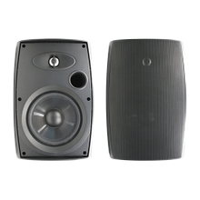 "6.5"" Two-Way Outdoor Speakers (Black)"