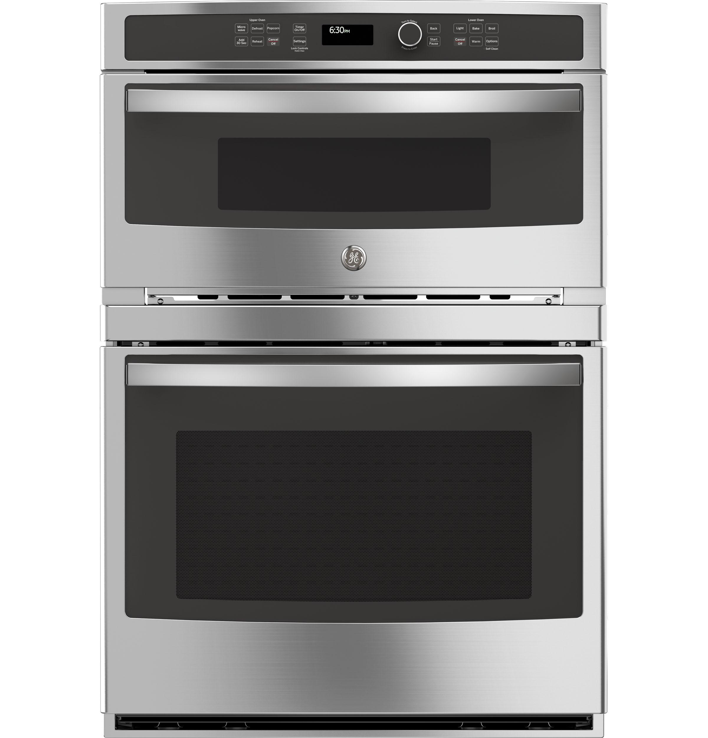 "GE30"" Combination Double Wall Oven"