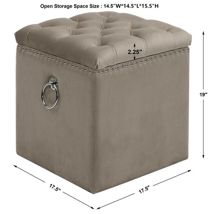 Uttermost - Talullah Storage Ottoman