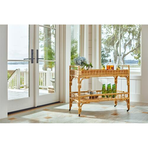 Universal Furniture - 5 O'Clock Bar Cart
