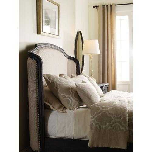 Product Image - Corsica Dark King Shelter Bed