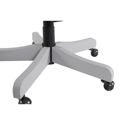 Osborne - Upholstered Desk Chair - Gray Skies Finish