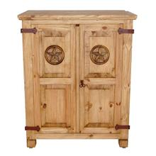 See Details - Small Short Armoire W/star