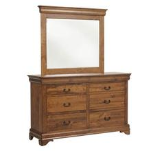 Versailles Low Dresser- 1in Bevel Mirror