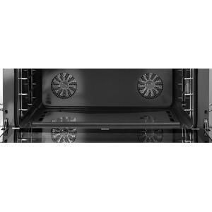 Range DECO 48'' Classic Black matte, Chrome 6 gas, griddle and 2 gas ovens