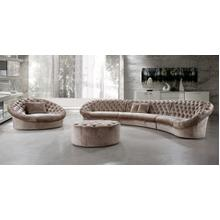 Divani Casa Cosmopolitan - Sectional Sofa, Chair and Ottoman