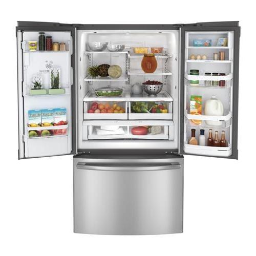 GE Profile - GE Profile™ Series ENERGY STAR® 28.6 Cu. Ft. French-Door Refrigerator