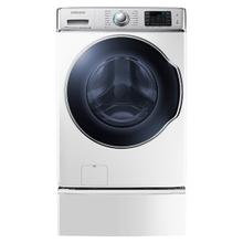 See Details - WF9100 5.6 cu. ft. Front Load Washer with SuperSpeed (White)