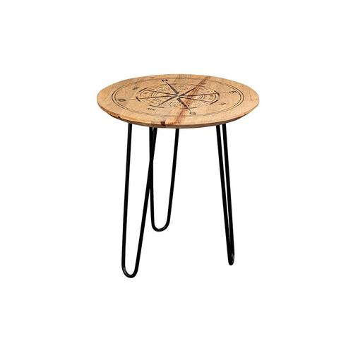 Compass End Table, 1901-150