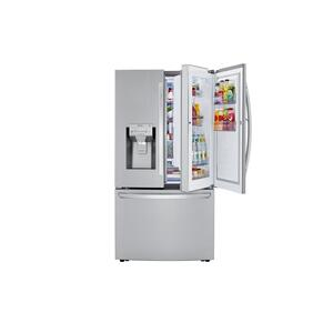24 cu. ft. Smart wi-fi Enabled Door-in-Door® Counter-Depth Refrigerator with Craft Ice™ Maker Product Image