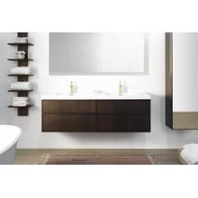 Wall-mount vanity