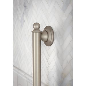 "Brantford oil rubbed bronze 12"" designer grab bar"