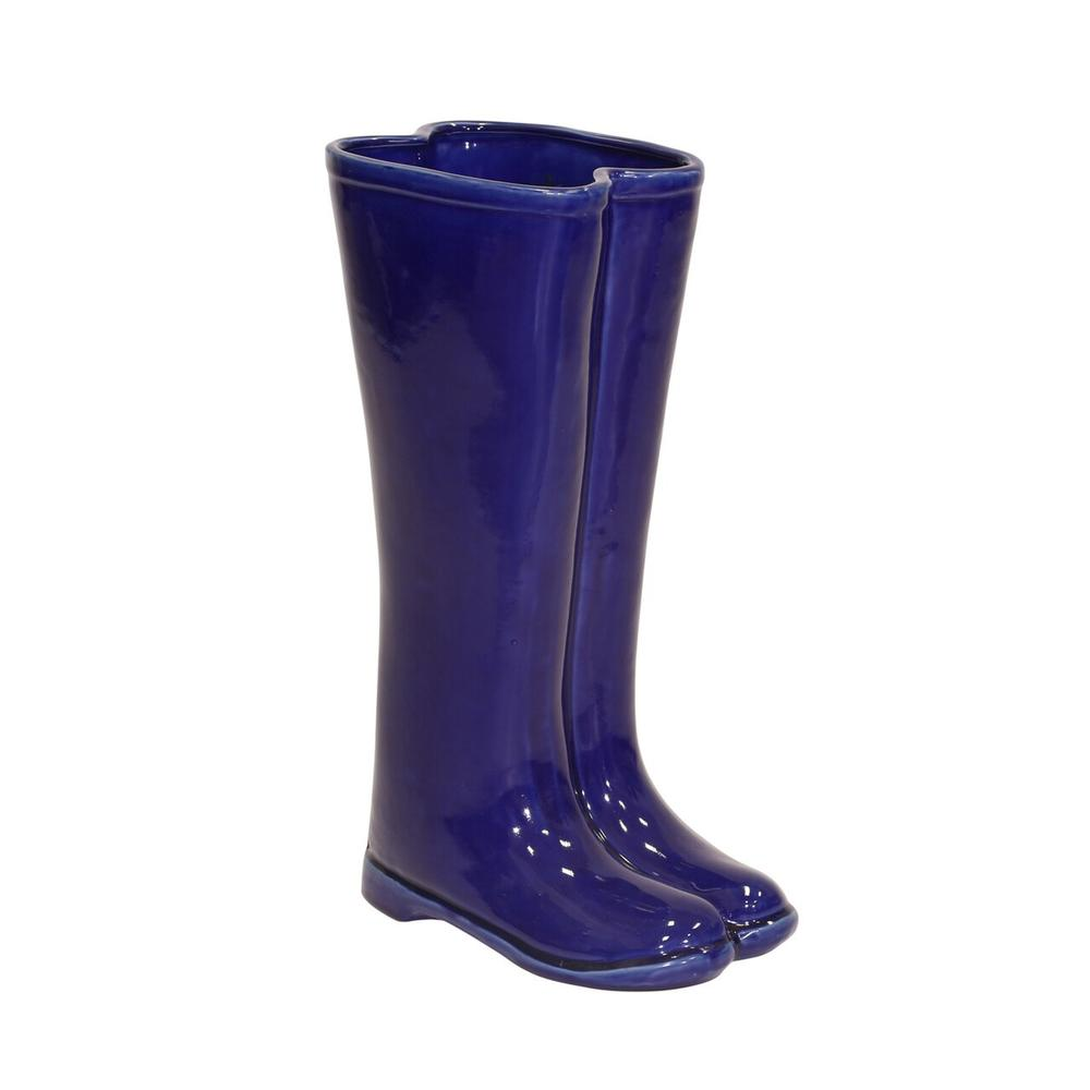 Blue Boots Umbrella Stand