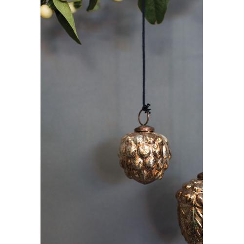 """Product Image - Hale Acorn Ornament (Size:2.25"""", Color:Gold)"""