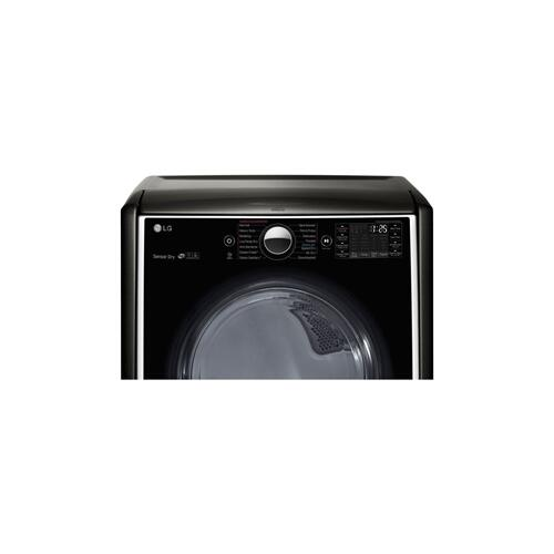 7.4 cu.ft. Ultra Large Capacity TurboSteam™ Gas Dryer w/ On-Door Control Panel