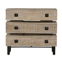 Rustic 3 Drawer Distressed Accent Chest