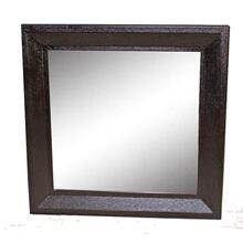 Square Dark Brown Mirror by Ultimate Accents