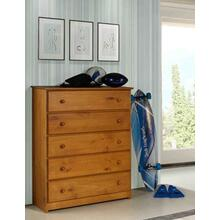 See Details - Tucson Five Drawer Chest