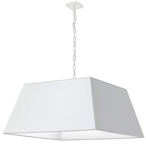 Product Image - 1lt Milano X-large Pendant, Wht Shade, Wht