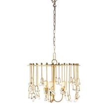 NK Winston Glass Rod Chandelier