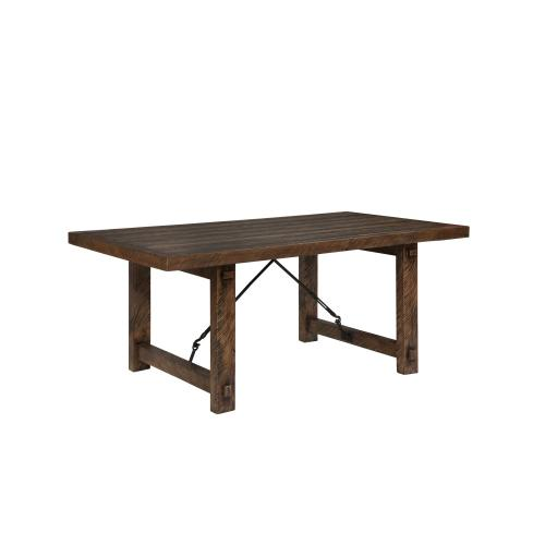 Rustic Lodge Dining Table