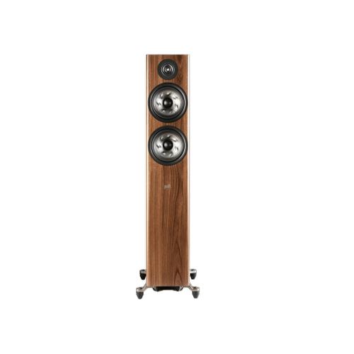 FLOORSTANDING LOUDSPEAKER in Brown Walnut