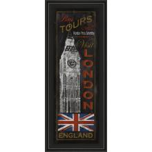 """London Tours"" By Conrad Knutsen Framed Print Wall Art"
