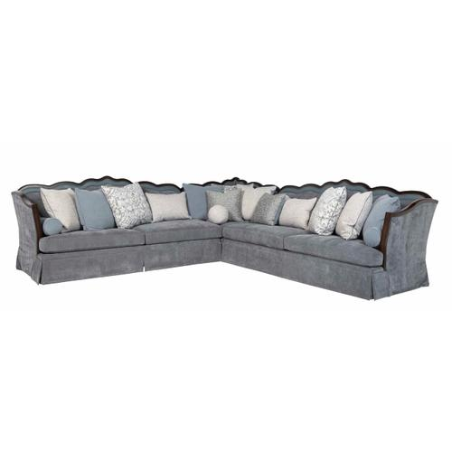 A.R.T. Furniture - Alyssa Mineral 3 piece Sectional