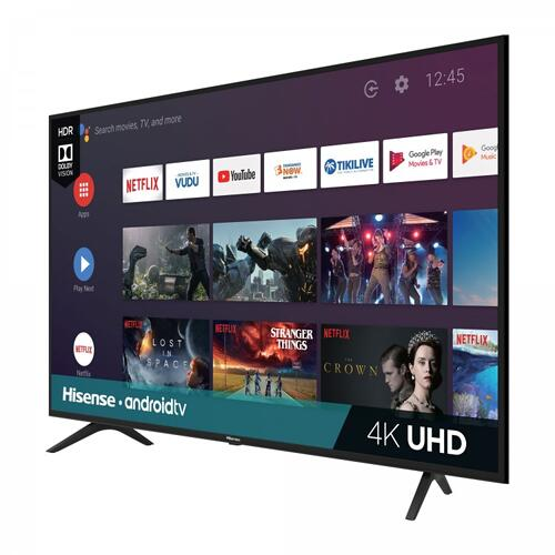 """43"""" Class - H6510G Series - 4k UHD Hisense Android TV (2020) SUPPORT"""